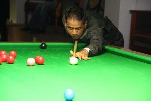 Selvin Moodley, KZN South Snooker League player