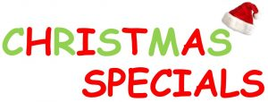 Decorative Christmas Specials Advertisement