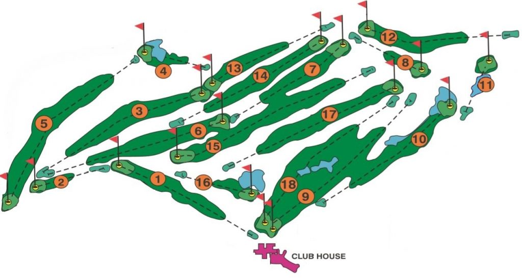Margate-Country-Club-Golf-Courses-Layout