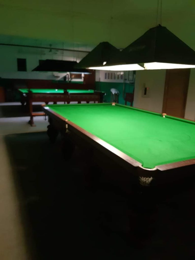 Image of new snooker room at Margate Country Club