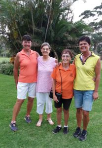 The winners of the Ladies Competition at Margate Country Club